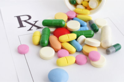 different kinds of medicine capsules and tablets